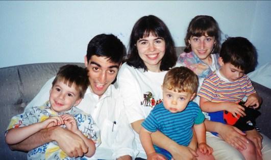 1994, Simon, Robert Antaki, Marie-Jo, Nicolas Maryse et Hubert