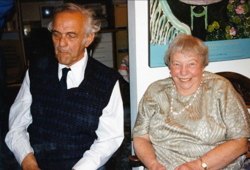 1994, juin - Frans van de Sande et Myrtle George