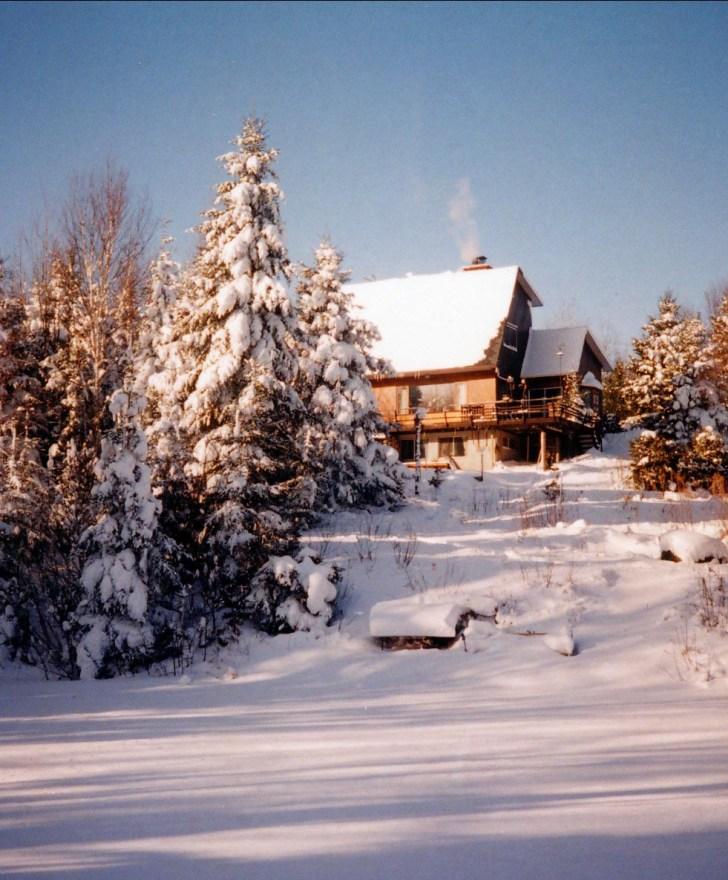 1994, maison Val David
