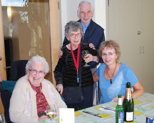 2011-03-22 Henriette, Gaby, Louis et Claire