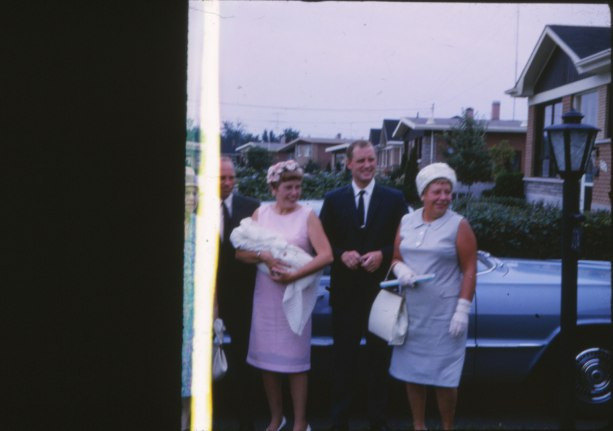 Billy George, Anna et Johnny Hughes et Myrtle George