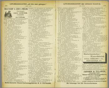 b-16a. adresboek Rotterdam 1900