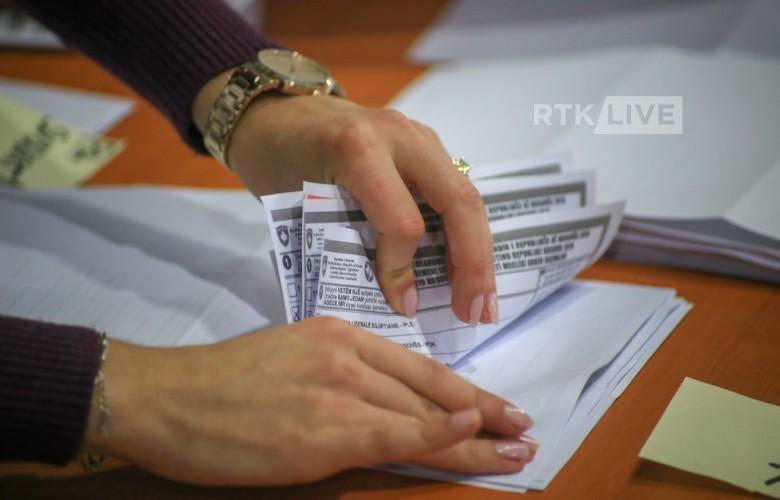Numërohen 16,321 vota me kusht, LVV merr më shumë se gjysmën e tyre