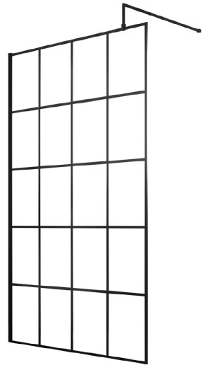 Sorento 1200mm Wetroom Panel Only
