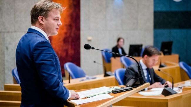CDA-Kamerlid Pieter Omtzigt en premier Mark Rutte.