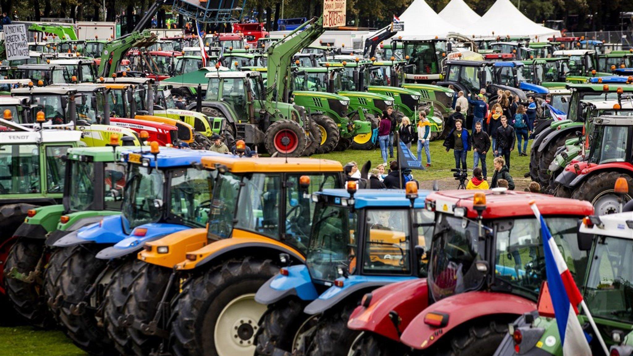 boerenprotest georganiseerd rtl