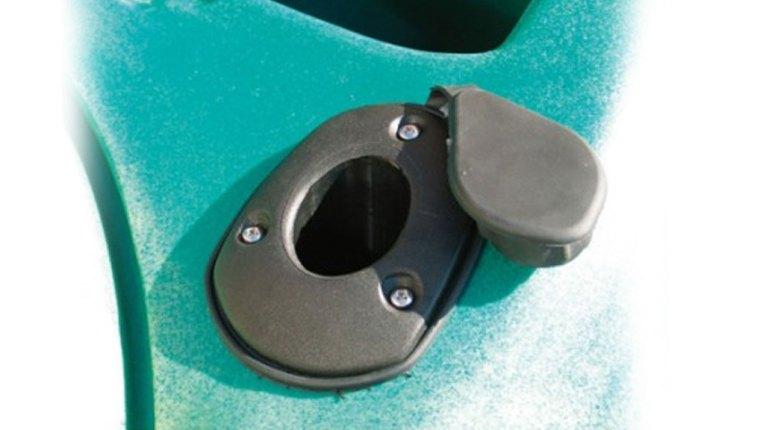 Porte-canne nylon fixe