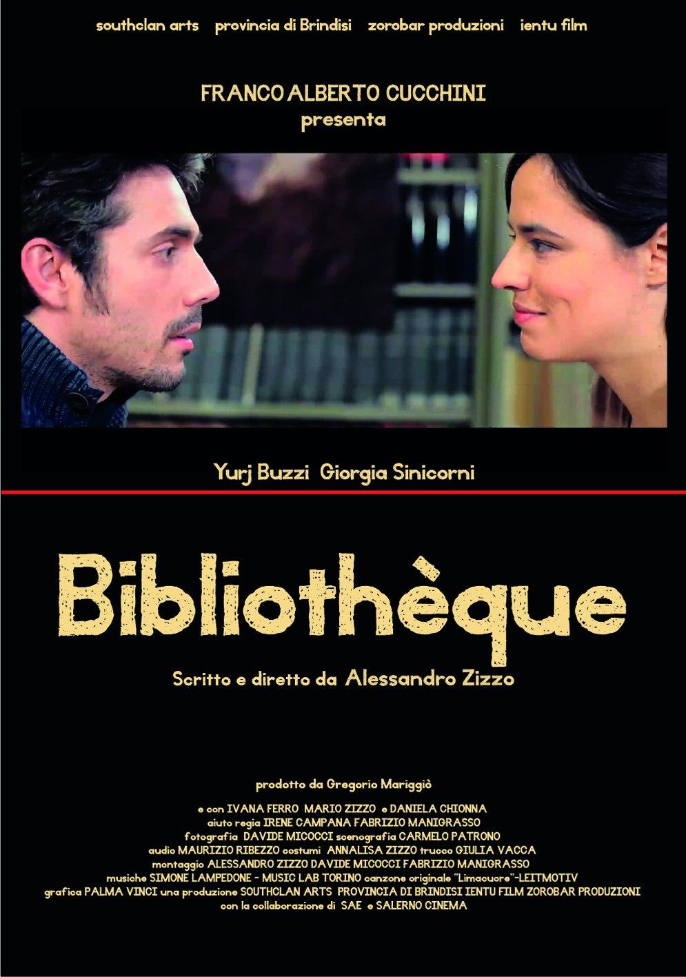 Locandina Bibliothèque