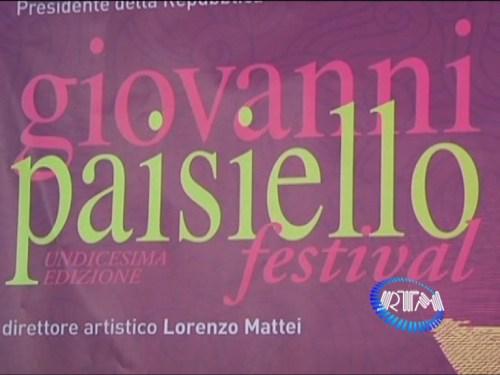 Giovanni Paisiello Festival 11ed