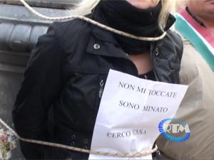 Nuova protesta Mov Fam Disagiate 2
