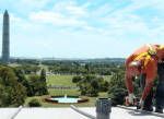 Re-installing Solar Panels on The White House Roof (Source: The White House)