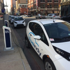 BlueIndy indianapolis charging stations