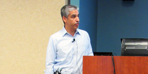 Bladen at MISO stakeholder meeting (© RTO Insider) - leading forward capacity auction discussion
