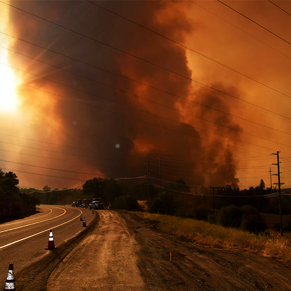 wildfires cpuc inverse condemnation blackout