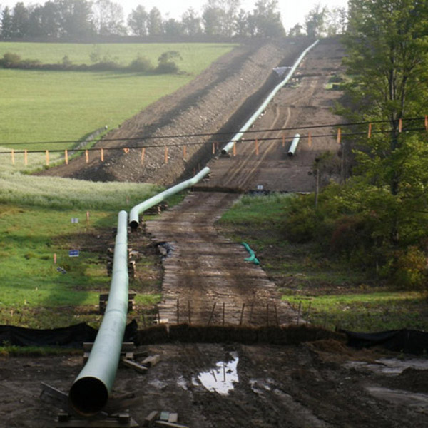 natural gas pipelines NEPA FERC