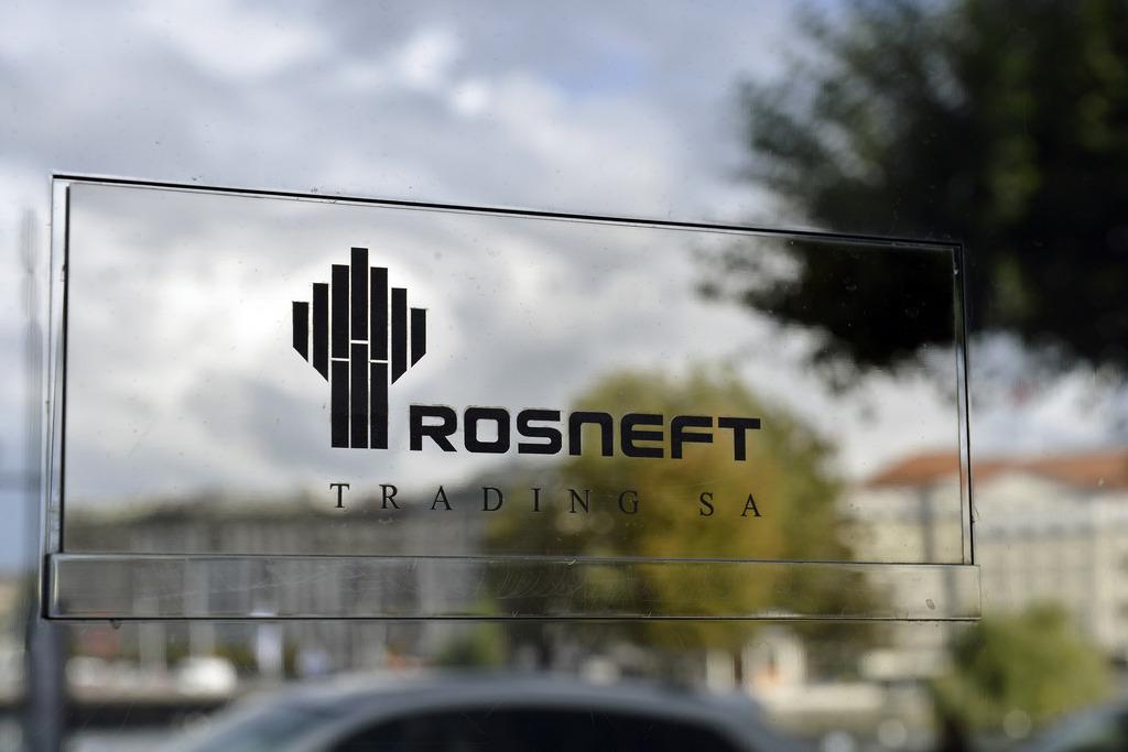 Visée par des sanctions, la société pétrolière Rosneft a des bureaux à Genève. [Keystone]