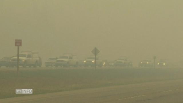 Les évacuations se poursuivent en Alberta