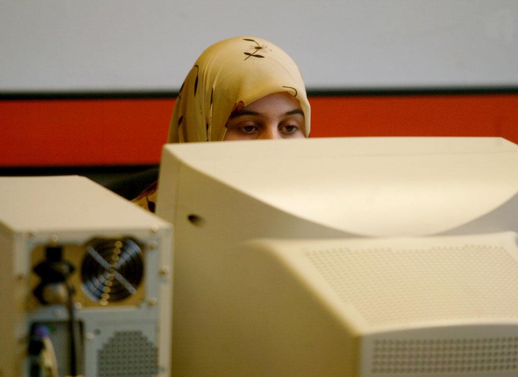 C'est la première décision de la CJUE sur la question du port du foulard islamique en entreprise (Image d'illustration).