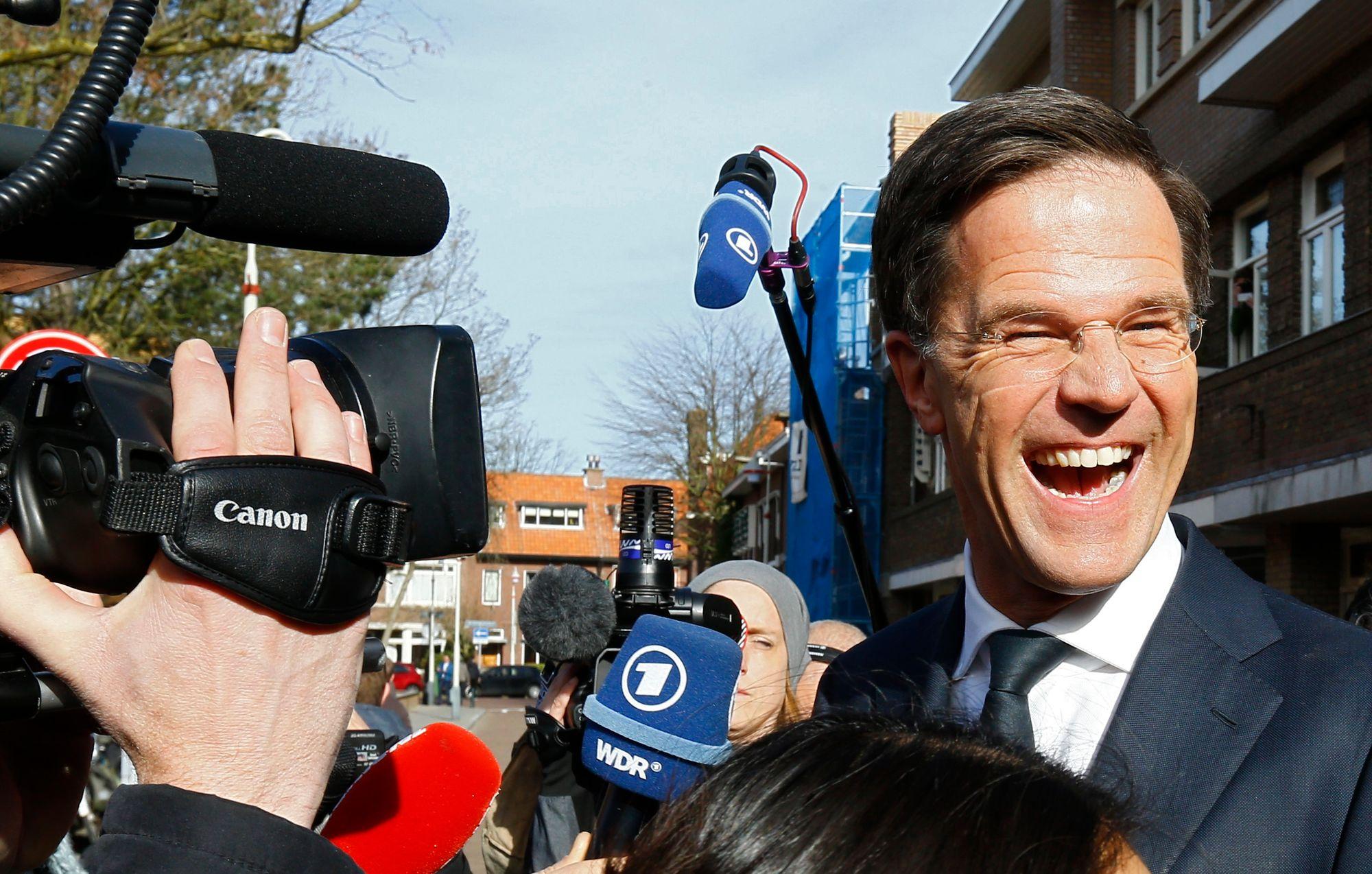 Le Premier ministre hollandais Mark Rutte photographié mercredi.