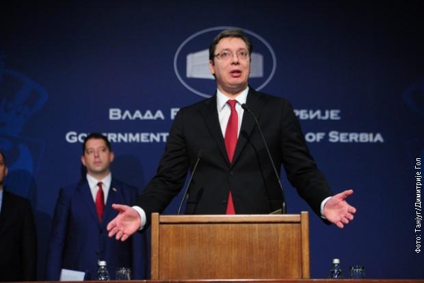 Vučić odgovarao na pitanja novinara