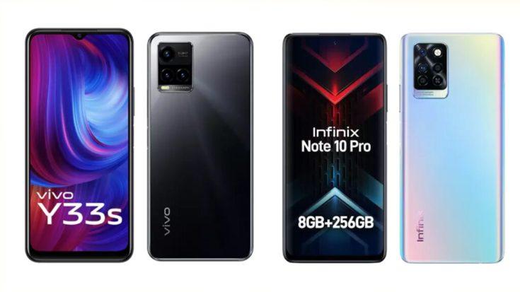 Vivo Y33s vs Infinix Note 10 Pro
