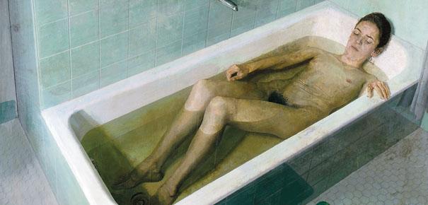 Resultado de imagen de antonio lopez mujer en la bañera
