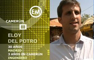 Ver vídeo  'Españoles en el mundo - Camerún - Eloy'