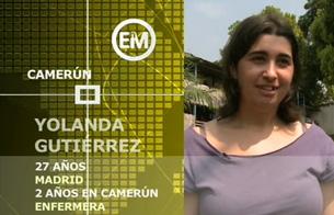 Ver vídeo  'Españoles en el mundo - Camerún - Yolanda'
