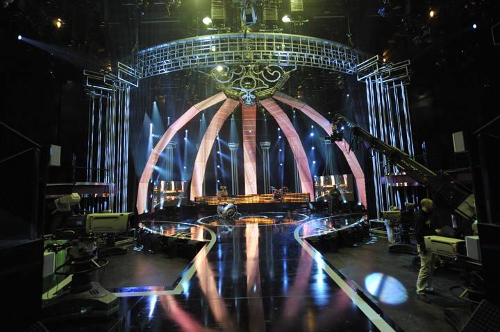 Plató de 'Destino Eurovisión'