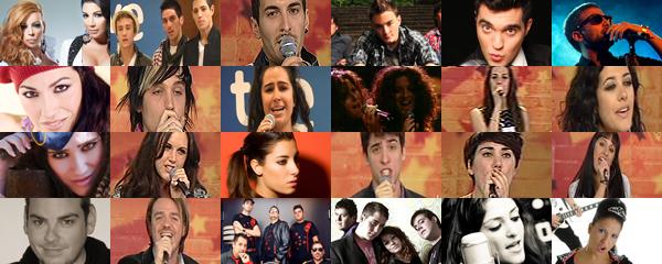 ¡Ya tenemos a los 24 finalistas de Eurovisión!