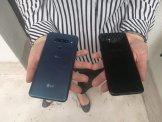 LG V40: rozmiar w porównaniu z Samsungiem S8