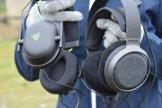 Rozmiar Philips Fidelio X3 vs. słuchawki gamingowe 1 / fot. techManiaK