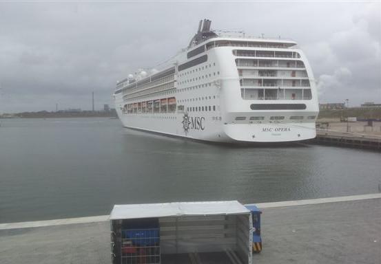MSC stopt met cruises vanaf IJmuiden