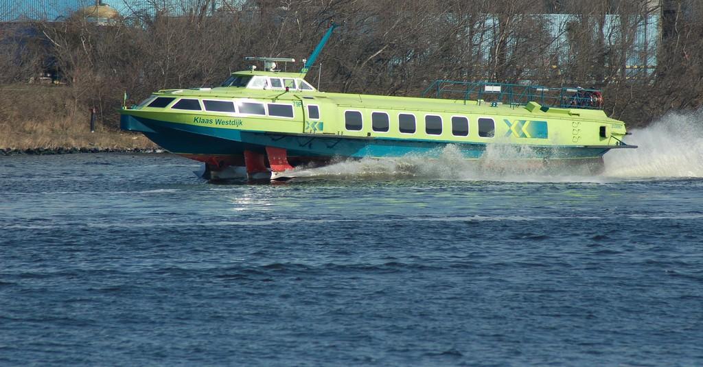 Fast Flying Ferry officieel uit de vaart