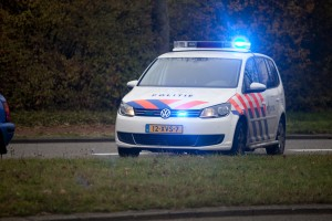 Politie-auto. License (CC) rights reserved by Hoguhugo
