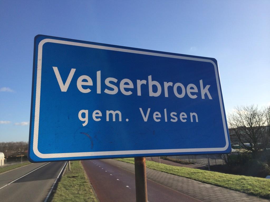 Verkeerschaos in de Velserbroek
