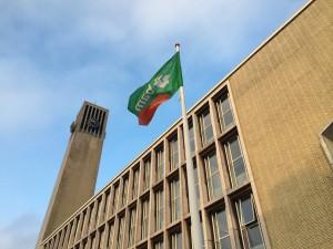 Stadhuis met BAM. Foto: RTV Seaport/Jelle Dijkstra