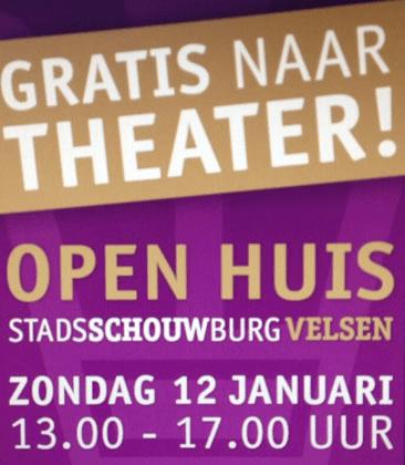 Open huis jarige Stadsschouwburg Velsen