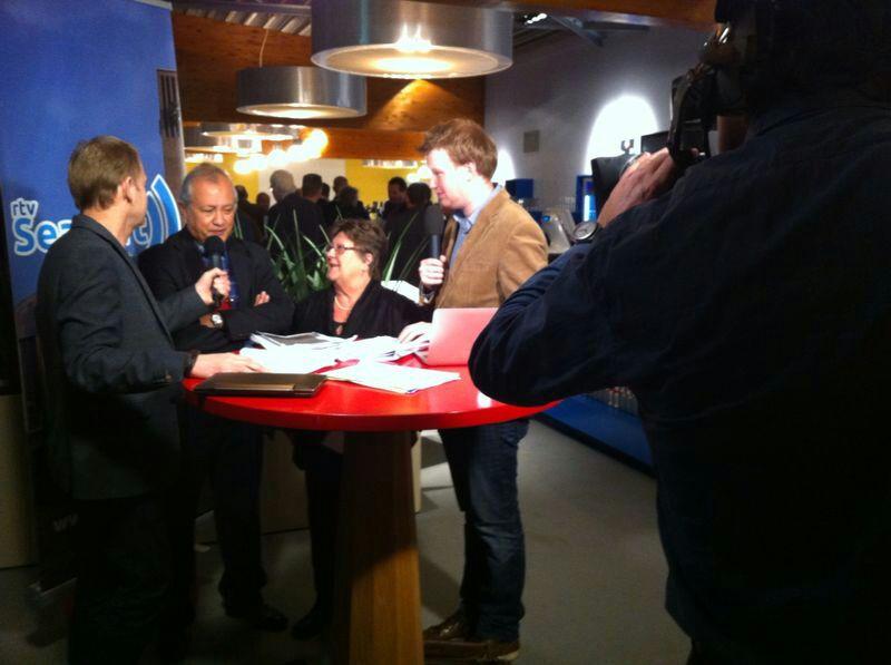 RTV Seaport pakt groots uit tijdens verkiezingen