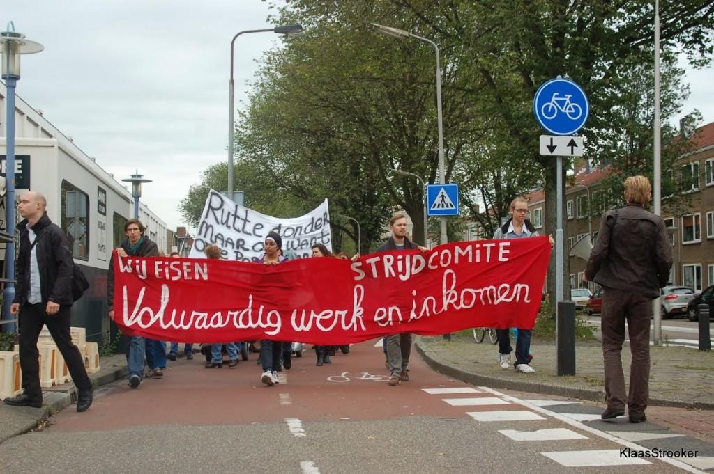 Vanmiddag grote protestactie door IJmuiden