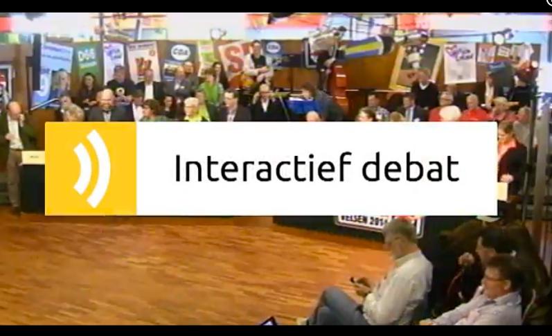 #Debatvelsen – Interactief debat