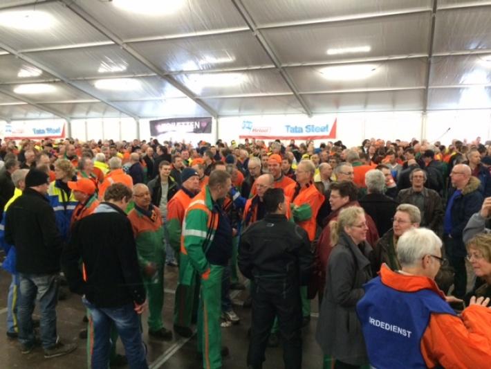 Ultimatum voor directie Tata Steel IJmuiden
