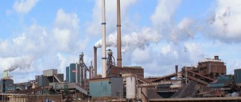 Anti-stof-overkapping bij Tata Steel