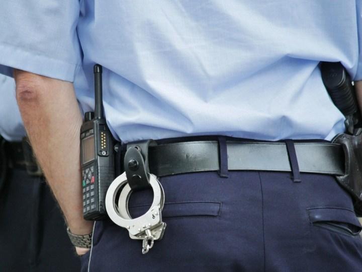 Trage inbreker gepakt door politie