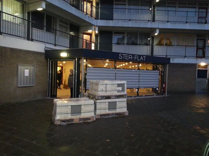 Bouwmateriaal gestolen bij Sterflat
