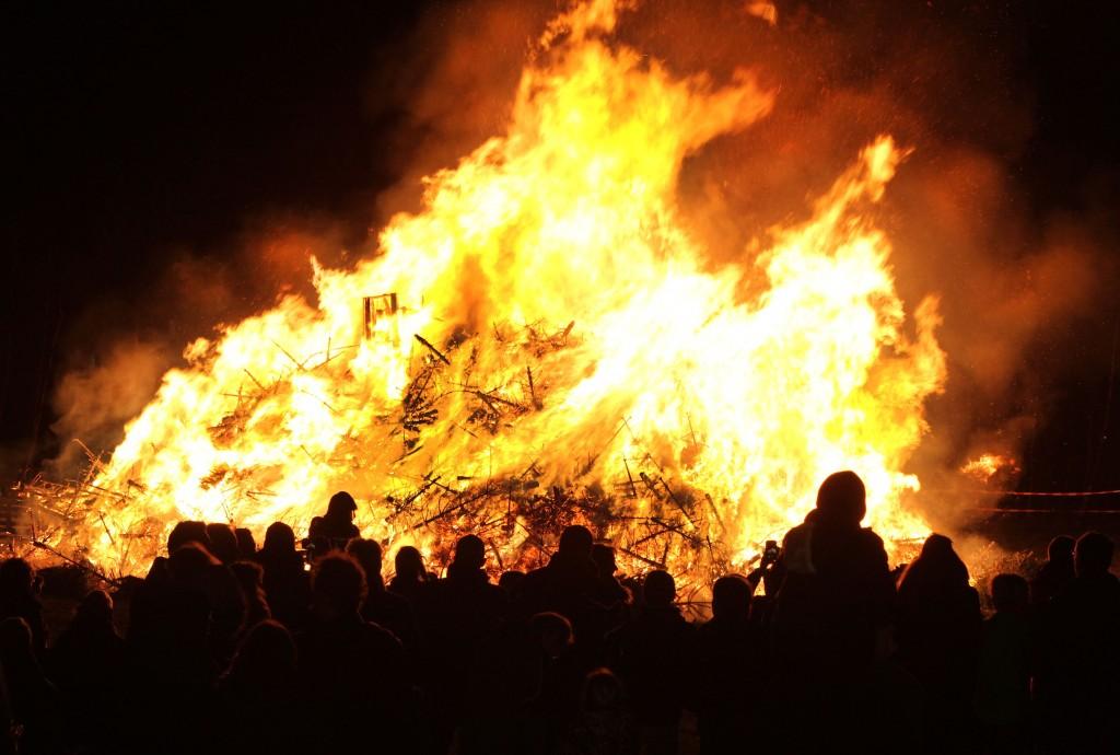 Kerstboomverbranding