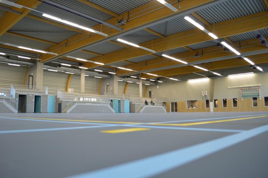 In beeld: nieuwe Sporthal Zeewijk