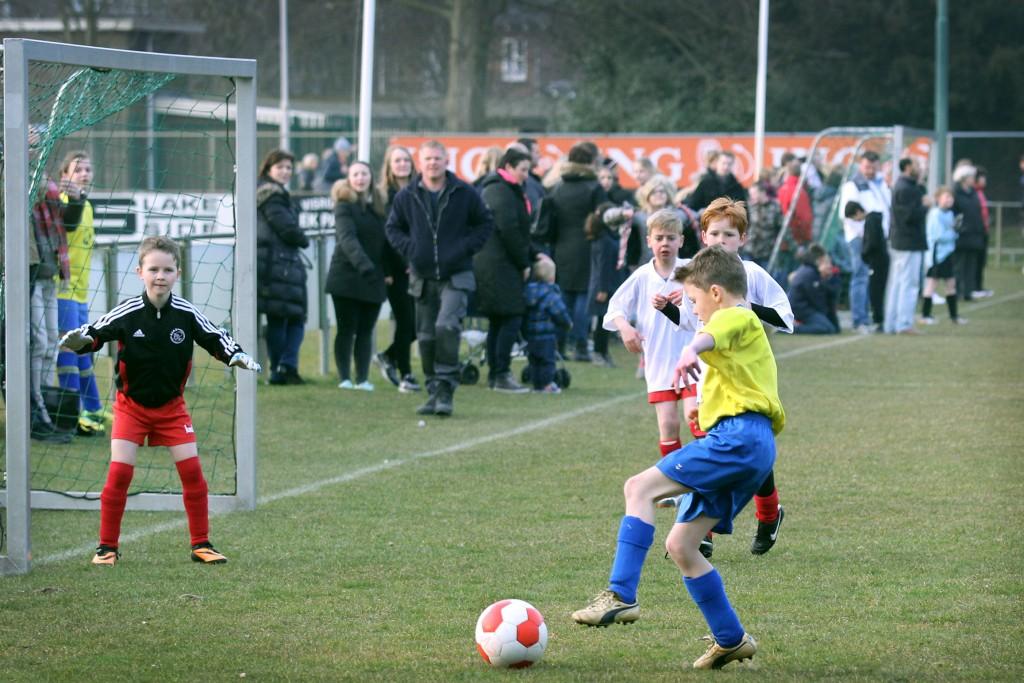 In beeld: Schoolvoetbal 2015