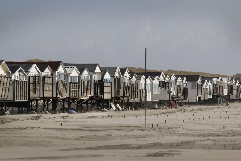 In beeld: Huisjes terug naar strand