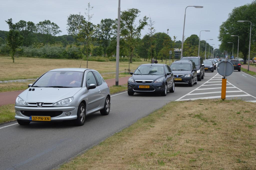 13-06-2015 verkeerschaos  ijmuiden-driehuis01